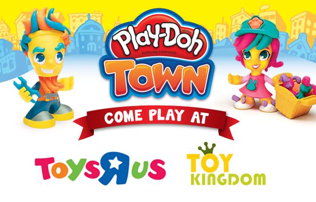 Play doh invite