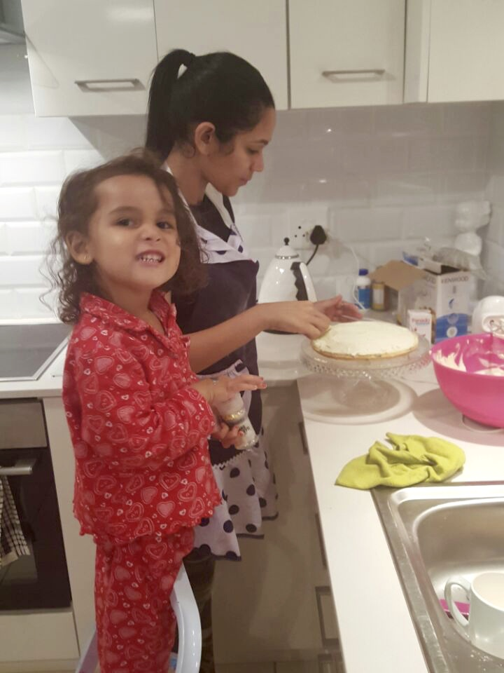 Getting our bake on