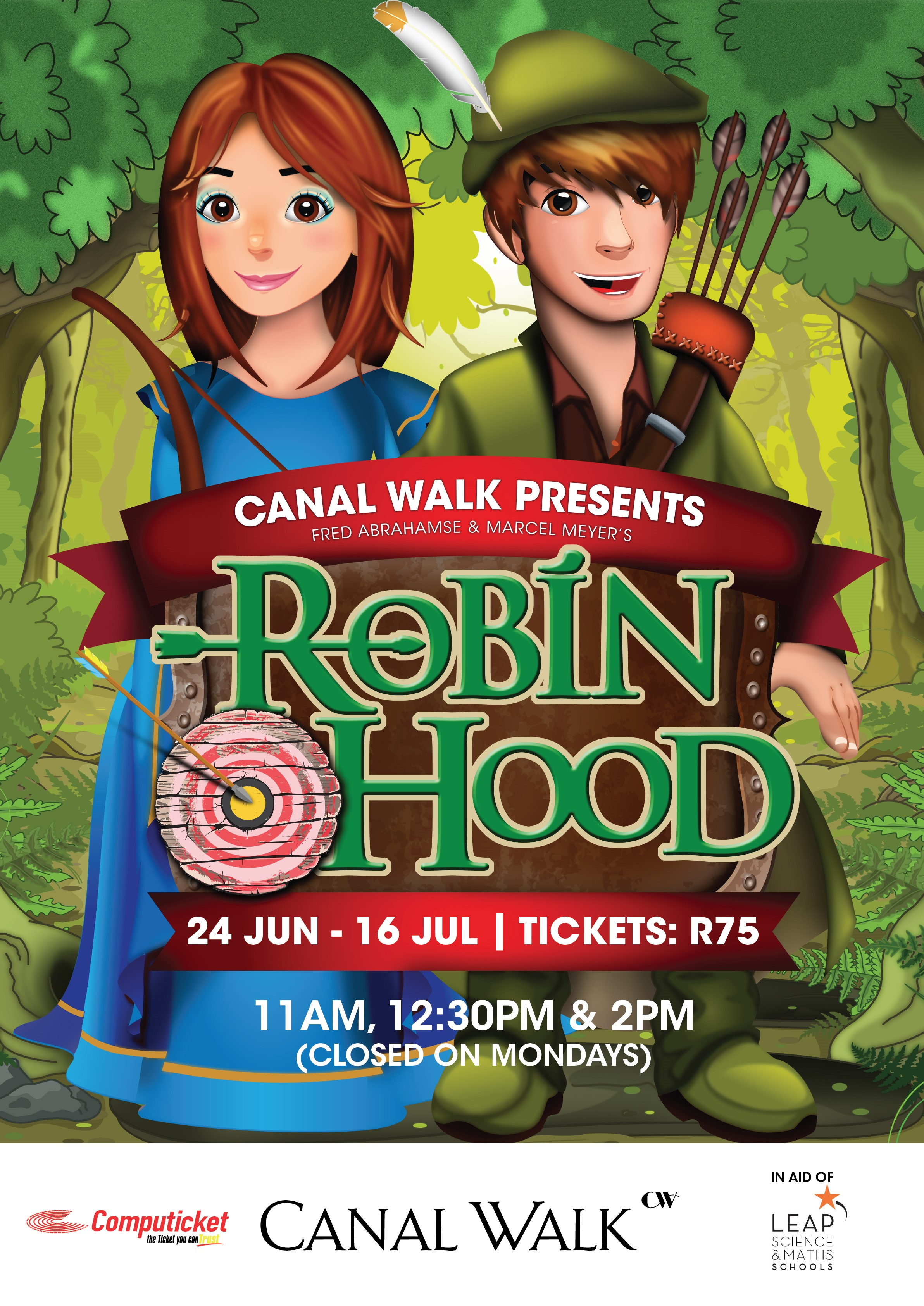Canal Walk Robin Hood