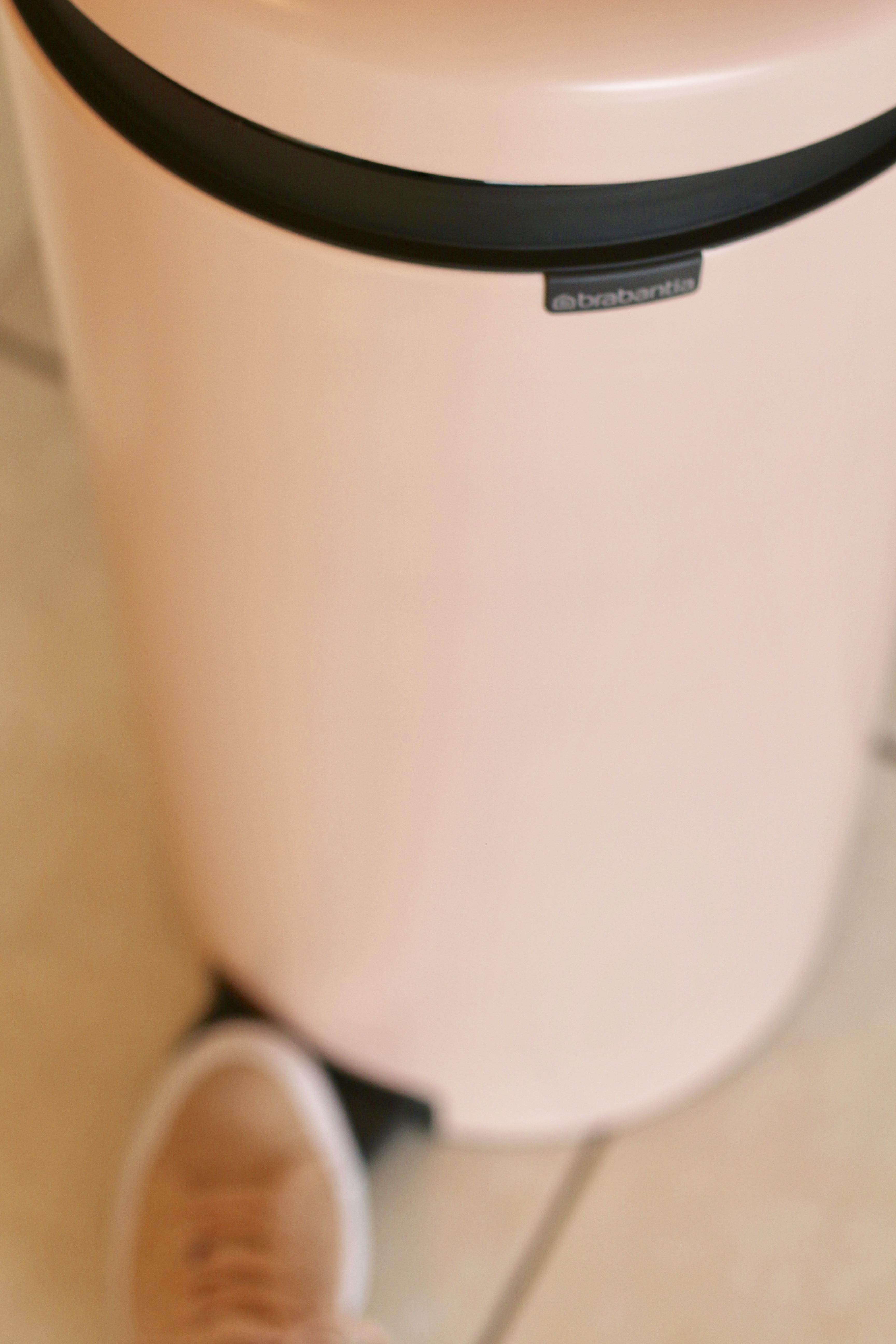 Pink Pedal Bin