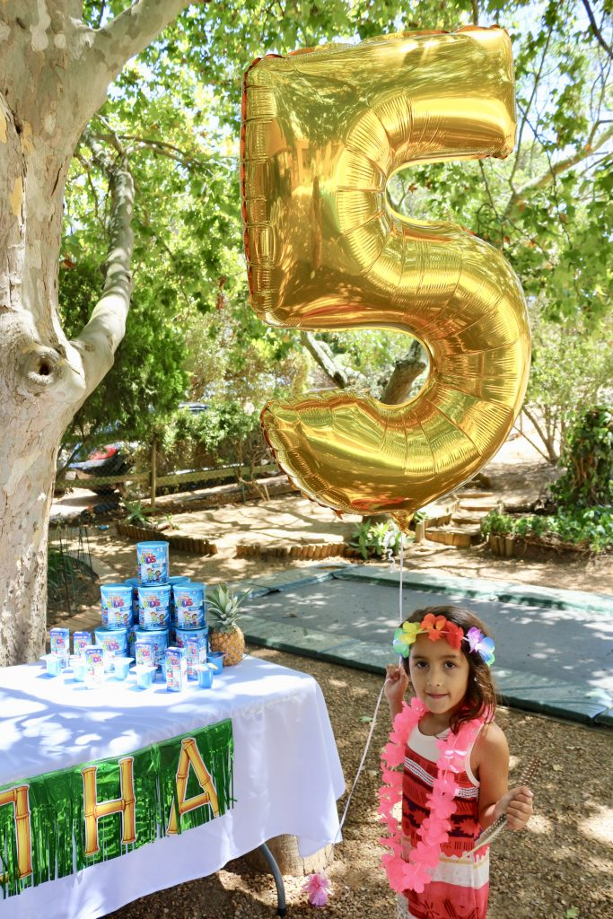 Moana birthday party