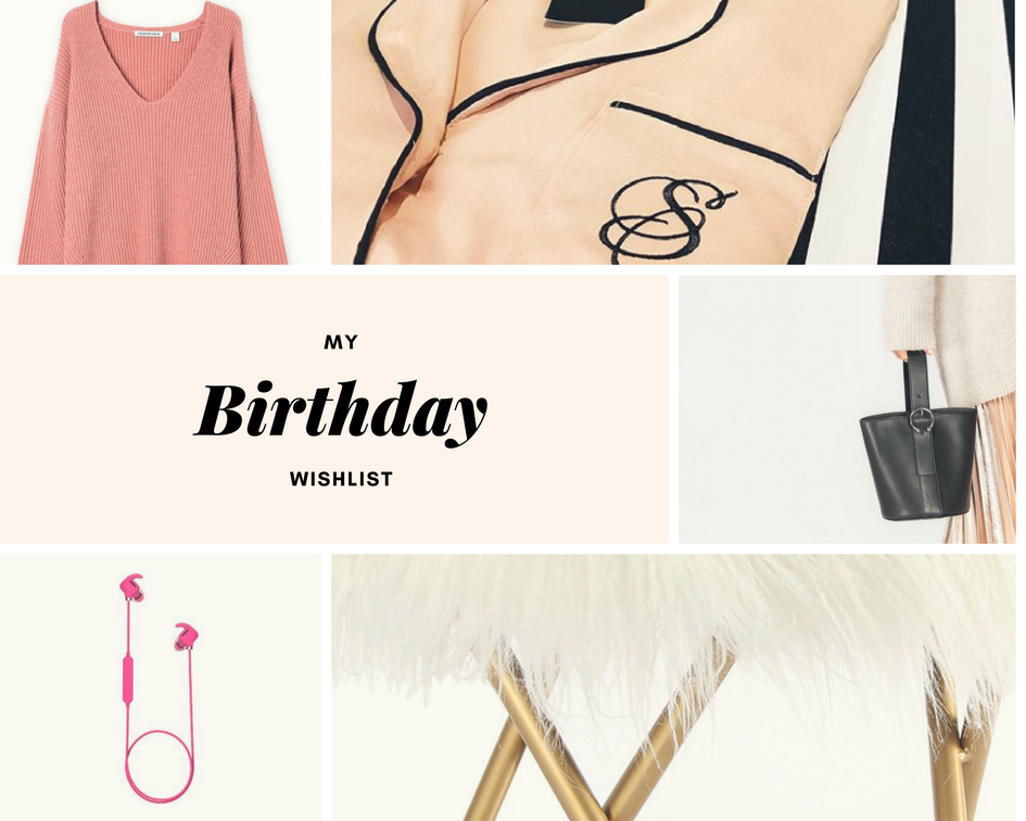 birthday wishlist