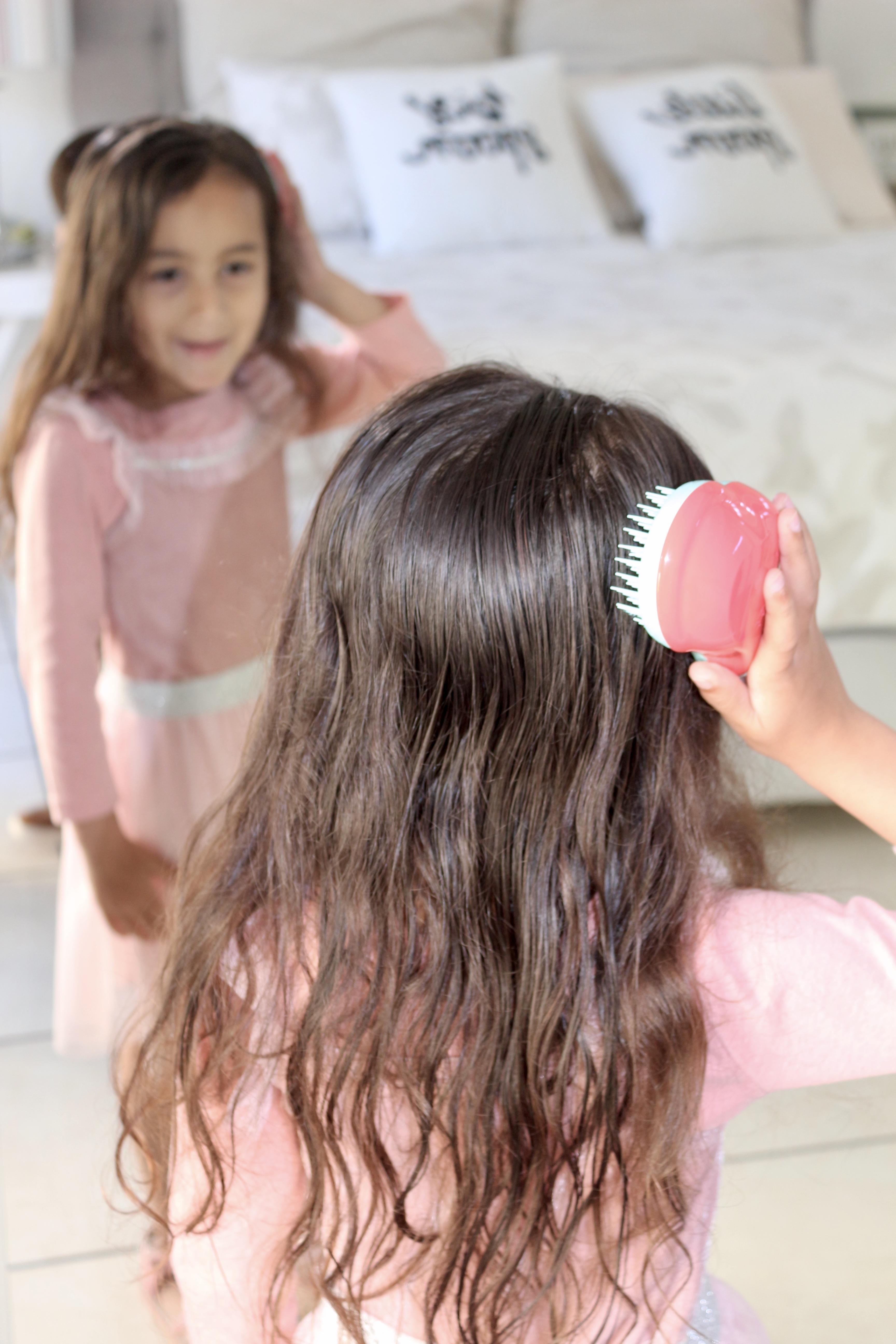 hair brushing battles