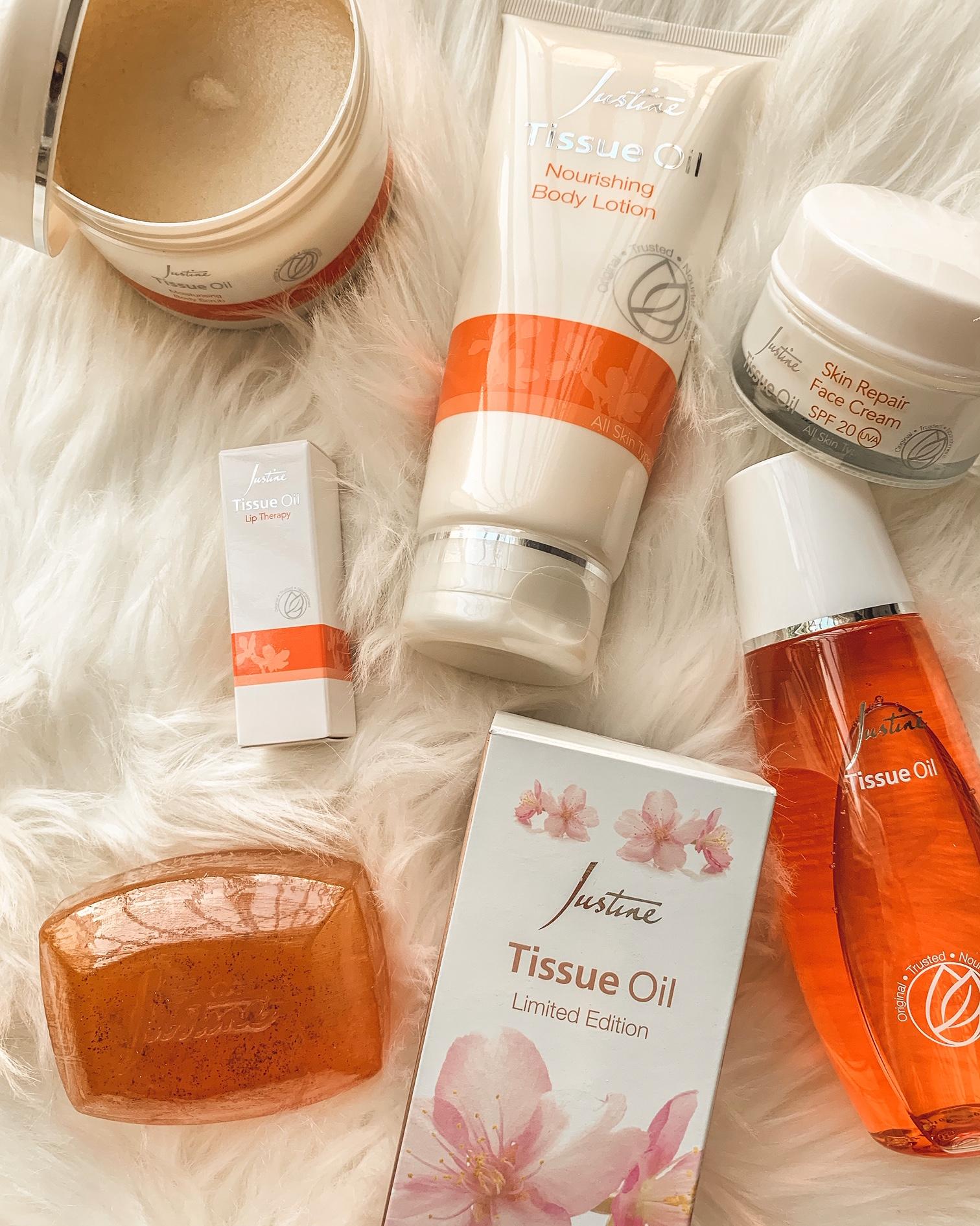Justine tissue oil