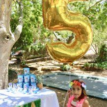 Moana birthday party